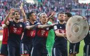 Der FC Bayern wurde bereits am 29. Spieltag Deutscher Meister