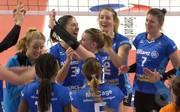 Die Spielerinnen von Allianz MTV Stuttgart wollen die Hauptrunde erfolgreich abschließen