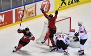 Kanada zog durch den Sieg gegen die Schweiz ebenso wie Russland ins Halbfinale der Eishockey-WM ein