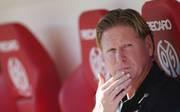 Markus Gisdol sammelte mit dem Hamburger SV in dieser Bundesliga-Saison bislang acht Punkte
