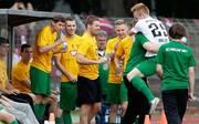 Der 1. FC Schweinfurt 05 tritt am 1. Spieltag gegen den TSV Aubstadt an