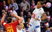 Handball EM Frankreich Montenegro Mit dem Siege gegen Montenegro erreicht Frankreich als Gruppenzweiter die Hauptrunde