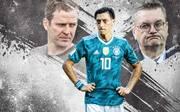 Am Pranger: Oliver Bierhoff und Reinhard Grindel rücken öffentlich von Mesut Özil ab