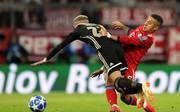Thiago (r.) konnte gegen Ajax Amsterdam nicht überzeugen
