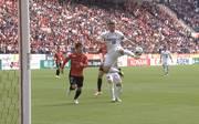 Lukas Podolski trifft für Vissel Kobe nach Vorlage von Andres Iniesta