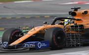 Formel 1: Bilder der Testfahrten in Barcelona