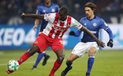 Serhou Guirassy (l.) jagte beim 1. FC Köln zwei Jahre lang unter dem falschen Vornamen dem Ball nach