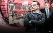 Sportvorstand Martin Bader (l.) und Investor Flavio Becca planen die Zukunft des 1. FC Kaiserslautern