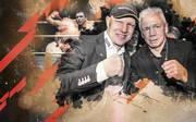Axel Schulz (l.) und Graciano Rocchigiani kannten sich seit 1992
