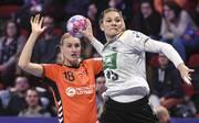 Die DHB-Frauen nutzen das Duell mit den Niederlanden zur Vorbereitung auf die WM