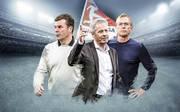 Dieter Hecking, Lucien Favre und Ralf Rangnick (v.l.) leiten ihre Mannschaften derzeit äußerst erfolgreich