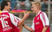 Ex-Bayern-Profi Tobias Rau (r.) wurde in den Aufsichtsrat von Eintracht Braunschweig gewählt