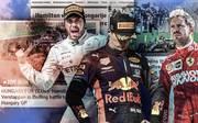 Das Duell um den Sieg zwischen Lewis Hamilton und Max Verstappen begeistert die internationale Presse