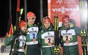 Nordische Kombination: Deutschland gewinnt Staffel in Kuusamo