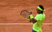 Rafael Nadal steht einmal mehr im Finale der French Open