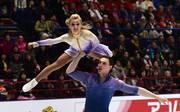 Aljona Savchenko und Bruno Massot treten bei Holiday on Ice auf