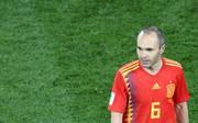 Andres Iniesta wird gegen Russland zunächst einmal auf der Bank sitzen