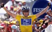 Lance Armstrong gewann sieben Mal die Tour de France