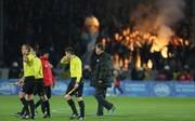 Die Fans von Hansa Rostock sind bekannt für ihr Spiel mit dem Feuer. Auch auf dem Platz zündeln die Anhänger gern