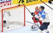 Marko Anttila erzielte gegen Russland den entscheidenden Treffer für die Skandinavier