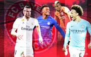 Gareth Bale (l.), Callum Hudson-Odoi, Henry Onyekuru, Leroy Sané - die Liste an potenziellen Kandidaten für den Bayern-Flügel ist lang