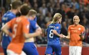 Arjen Robben für die Niederlande gegen Island