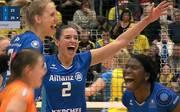 Volleyball-Bundesliga: Allianz MTV Stuttgart gewinnt gegen SSC Palmberg Schwerin