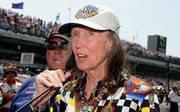 Mari Hulman George gab bis 2015 das Startkommando zum Indy 500