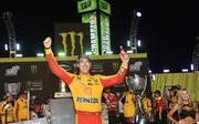 Totaler NASCAR-Triumph 2018 für Joey Logano, Penske und Ford