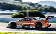 Jamie Green ist Audi-Referenzfahrer beim DTM-Nachwuchstest in Jerez