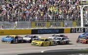 Die Action auf dem Las Vegas Motor Speedway war besser als 2018