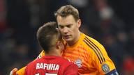Manuel Neuer und Rafinha waren 13 Jahre Teamkollegen