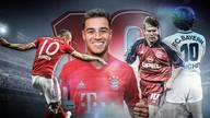 Philippe Coutinho übernimmt beim FC Bayern die Rückennummer 10 von Arjen Robben