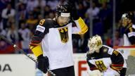 Eishockey-WM: Toni Söderholm kritisiert Abwehrarbeit von Leon Draisaitl, Leon Draisaitl steht mit der deutschen Nationalmannschaft im WM-Viertelfinale