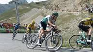 Tour de France: Emanuel Buchmann fährt mit der Spitzengruppe den Tourmalet hinauf
