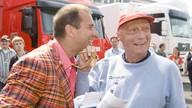 Kai Ebel und Niki Lauda kannten sich seit 1992