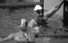 Andrea Pollack gewann drei Goldmedaillen bei Olympischen Spielen