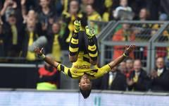 Auch dank Pierre-Emerick Aubameyang ist Borussia Dortmund auf Klettertour in der Tabelle - und unterwegs in Richtung Europa-League-Qualifikation