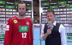 Silvio Heinevetter im Interview nach der Niederlage gegen Norwegen