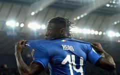 Moise Kean erzielte gegen Finland sein erstes Länderspieltor für Italien