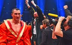 Tyson Fury und Wladimir Klitschko standen sich 2015 im Ring gegenüber