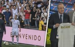 Real Madrid: Vorstellung von Eden Hazard im Santiago Bernabéu