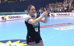 Die deutsche Handball-Nationalmannschaft der Frauen gewinnt gegen Polen