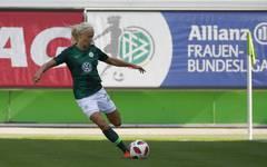 Pernille Harder büßte mit dem VfL Wolfsburg erstmals in dieser Saison Punkte ein