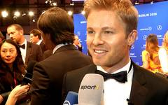 Nico Rosberg bei den Laureus World Sports Awards in Berlin im SPORT1-Interview