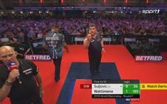 Mensur Suljovic - Jermaine Wattimena (10:1) | World Matchplay | Erste Runde