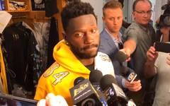 NFL: Antonio Brown von den Pittsburgh Steelers erklärt seinen Frust