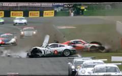 Das Rennen wurde durch einen schweren Unfall von Jacob Eidson und Henric Skoog überschattet