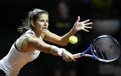 Julia Görges feierte gegen Diana Marcinkevica ihren achten Sieg im 16. Fed-Cup-Einzel
