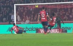 Ligue 1: OSC Lille - AS Monaco (0:1): Tore und Highlights im Video